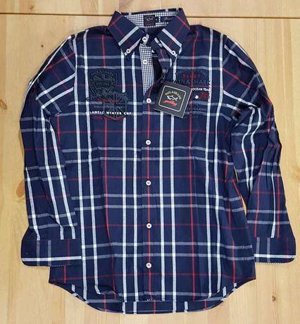 Camisa rapaz: PAUL & SHARK, tamanho 10 anos.