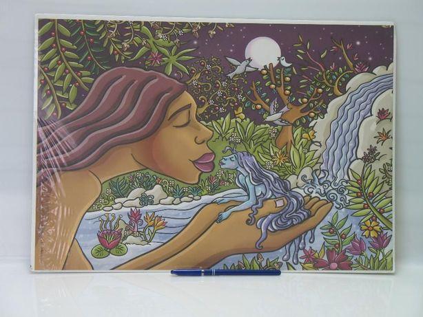 Poster - Beijo de Água