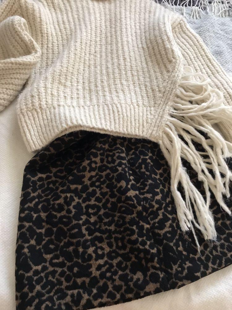 Юбка George леопардовая