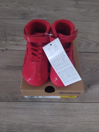 Buty jesienne buciki do kostki czerwone Reebok Classic 22 nowe