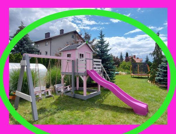 """Bajkowy """"prosty"""" domek dla dzieci, plac zabaw, domek ogrodowy"""