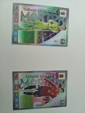 Karty piłkarskie panini UEFA euro 2020 (cena obowiązuje 2 karty)