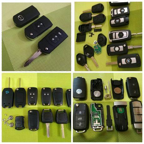 Ключ корпус выкидной Opel Vectra Astra Insignia Omega Mazda Volkswagen