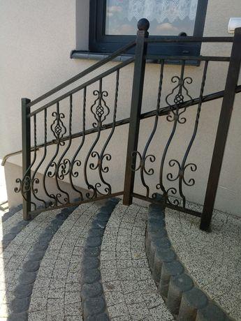 Balustrada kuta na schody