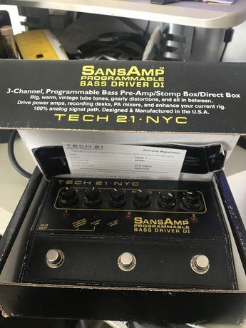 Pedal SansAmp Bass-Driver DI Programable