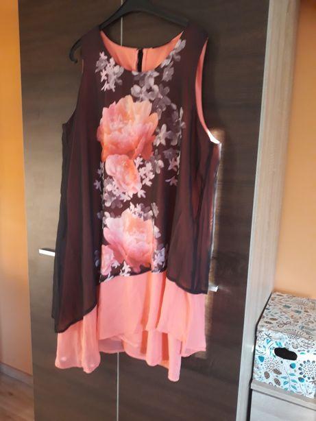 Asymetryczna sukienka roz.46
