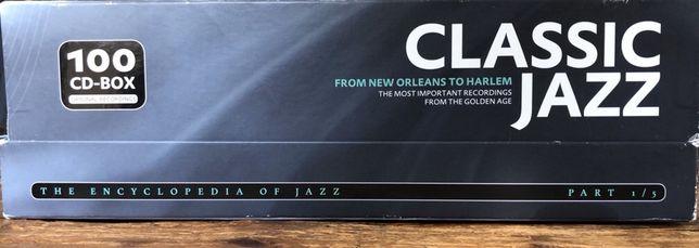 Caixa com 100 CDs Jazz Classicos