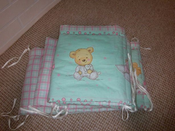 Продам бортики(защиту) до дитячого ліжка.