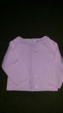 Casaco rosa 18meses e camisola