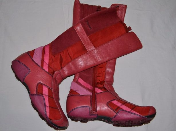 Diesel сапоги ботинки женские