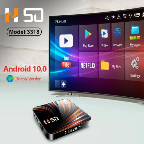 Tv Box Android 10.0 4G/32Giga