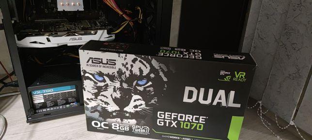 Продам Asus Dual Gtx 1070