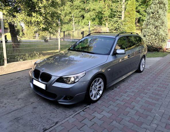 BMW E61 530D 3.0D 2005r. M Pakiet , komforty , bezwypadkowy , zadbany