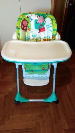 Стульчик для кормления Chicco polly 2 в 1 стул столик Чикко