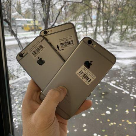 Телефон Apple iPhone 6 16/64/128Gb оригинал   Гарантия   Магазин