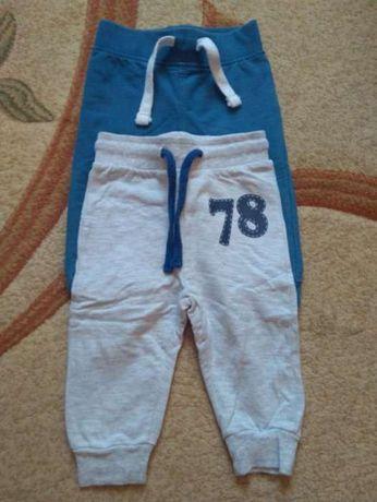 Świetne spodnie dresowe 74