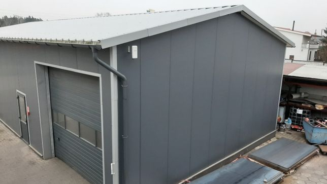 hala stalowa konstrukcja ocynk 10x30 m ściana 5 m płyta PIR Witkowski