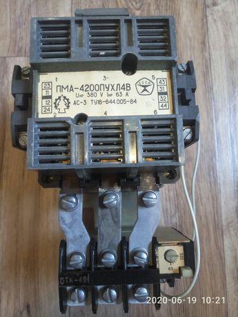 Пускатель электромагнитный ПМА