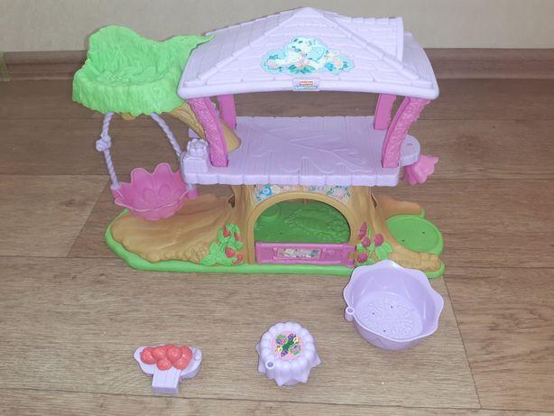 Домик дом для кукол Fisher price little people elc