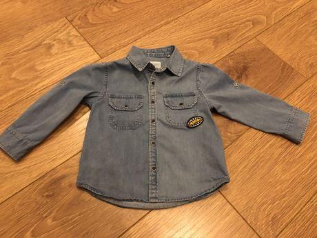 Koszula chłopięca jeansowa 5.10.15 92