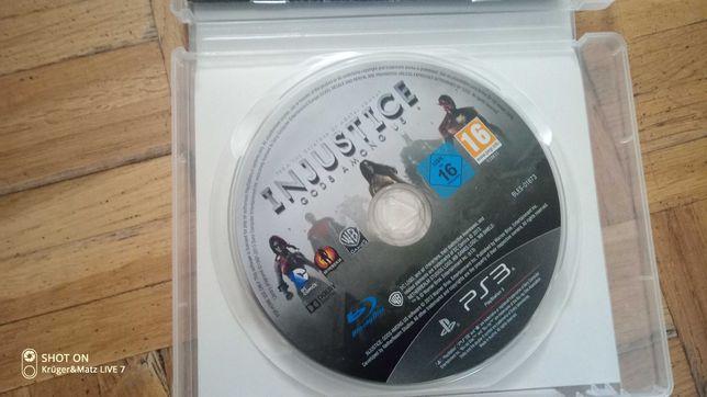 Gra injustice na  PS3