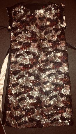 Платье паетки на рост 146 на 10 лет