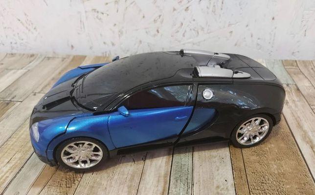 трансформер - Бугатти, 2в1 робот / на п\у Bugatti Veyron, машинка /