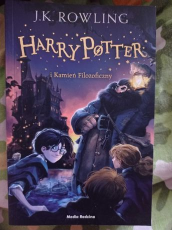 Harry Potter i Kamień Filozoficzny książka media rodzina