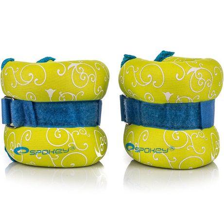 Obciążenia na ręce i nogi Spokey Flo Form II 2x0,5kg żółto niebieskie