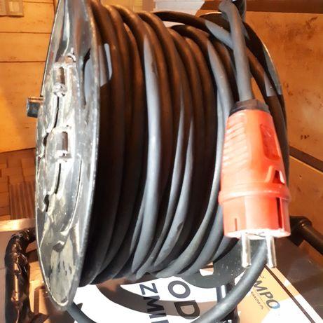 Kabel 50 metrów atest na budowę lub do ogrodu OKAZJA