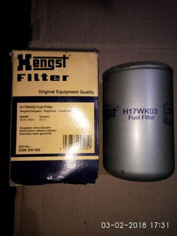 Фильтр топливный Hengst E10KFR4D10 \ Hengst H17WK03