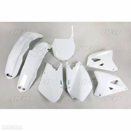 kit plasticos ufo branco suzuki rm 125 / 250