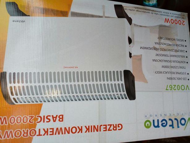 Grzejnik elektryczny energooszczędny nowy 2000 wat przenośny grzejnik