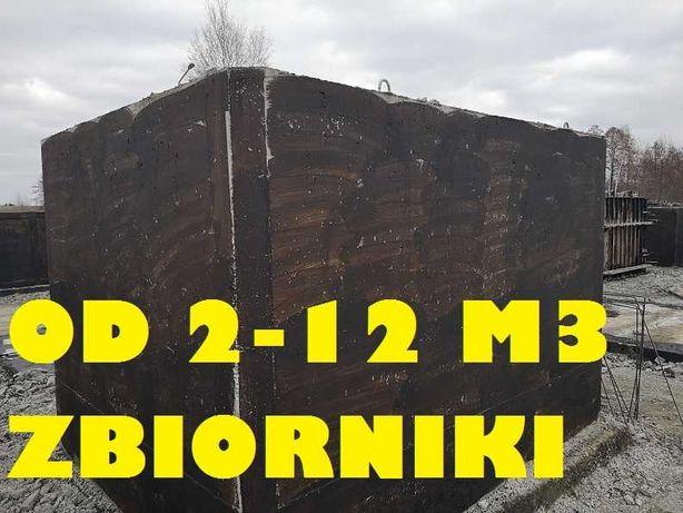 Zbiorniki Betonowy 10000l na gnojówkę Solidne Szambo Betonowe odchody
