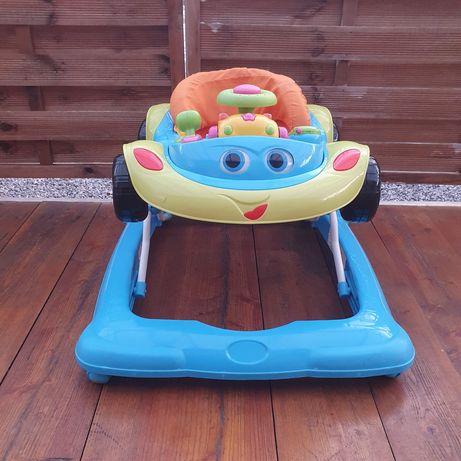 Chodzik samochodzik z wyjmowanymi zabawkami