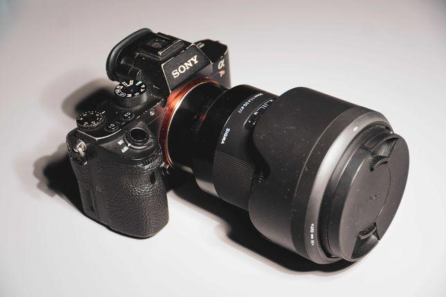 Sony A7rII / A7r2 + 8 akumulatorów + 2x ładowarka + pasek + ł studyjna
