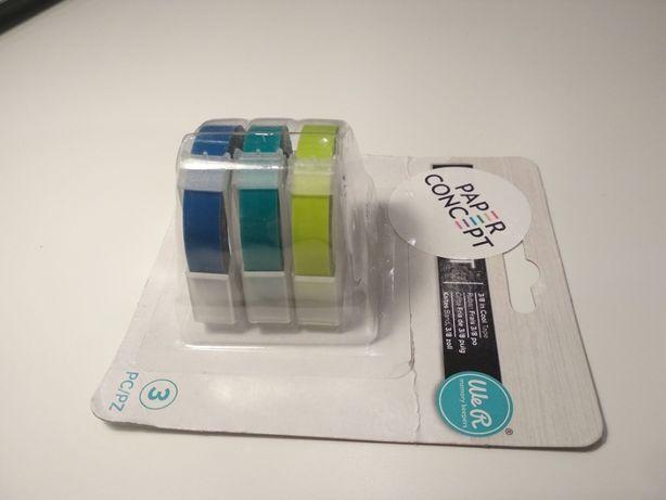 Zestaw taśm Label It, scrapbooking - We R Memory Keepers -zimne kolory