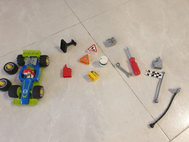 Lego duplo wyścigówka 6143 niekompletny