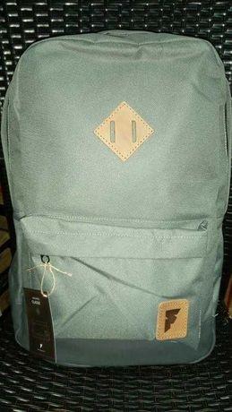 Рюкзак сірий вмісткий унісекс