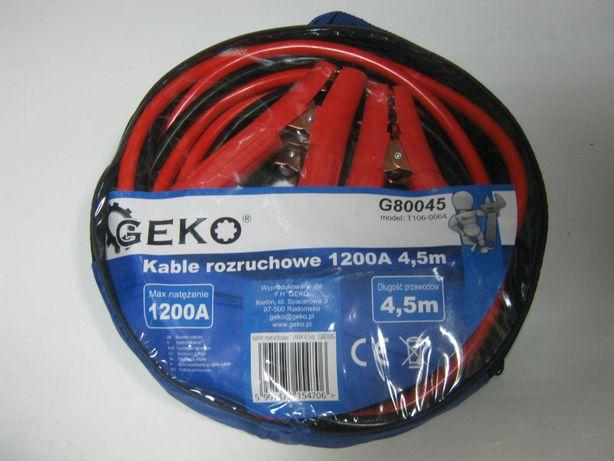 Przewody kable rozruchowe 1200A 4.5m