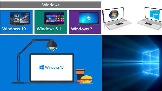 Установка Windows 7/8/10 (х32/х64). Налаштування smart tv