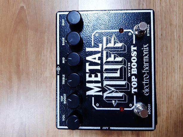Efekt gitarowy Heavy metalowy distortion Metal Muff