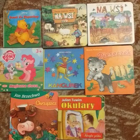 Zestaw - książeczki dla dzieci