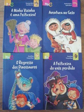 4 Livros O Regresso dos Dinossauros, Aventura no gelo, Daniel Beau