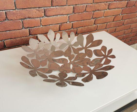 Misa srebrna ikea STOCKHOLM dekoracja do domu