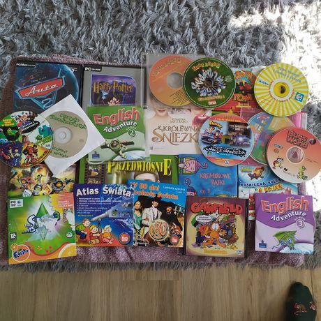 Płyty 22 szt LEGO, Auta 2,filmy,angielski muzyka i inne