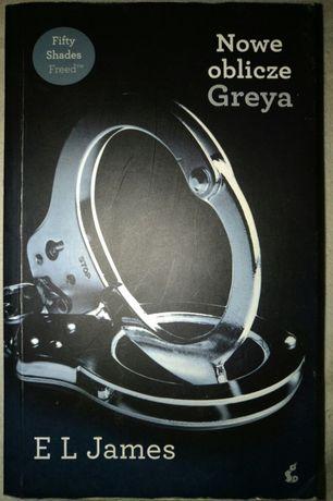 "Książka "" Nowe oblicze Greya "" E. L. James"
