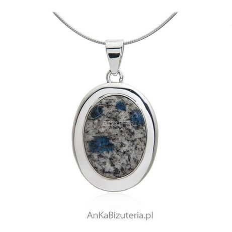 ankabizuteria.pl kamień noc kairu kolczyki Wisiorek srebrny z kamienie