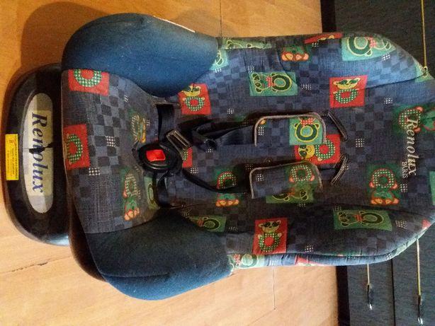 Wygodny fotelik samochodowy Renolux 9-18kg dla dziecka  OKAZJA!