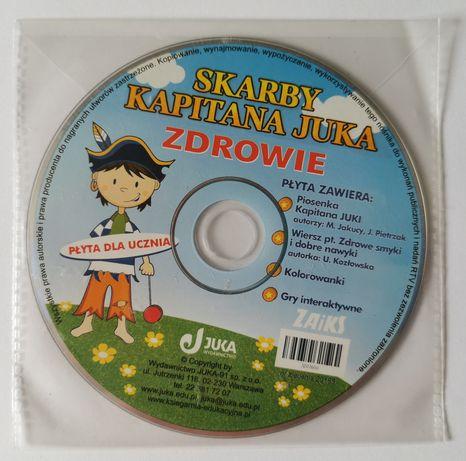 Skarby Kapitana Juka ZDROWIE płyta Wydawnictwo JUKA Zaiks